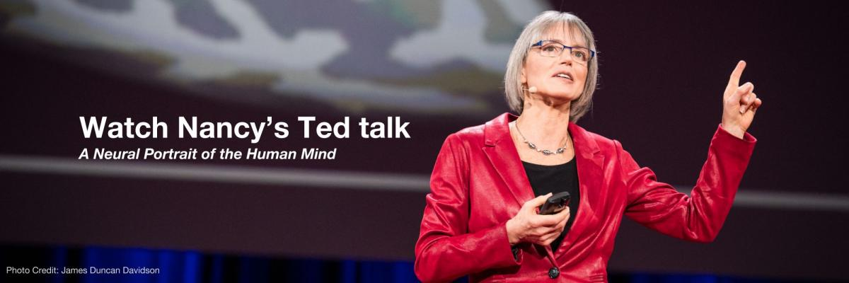 Nancy's ted talk about studying the human brain with fMRI.
